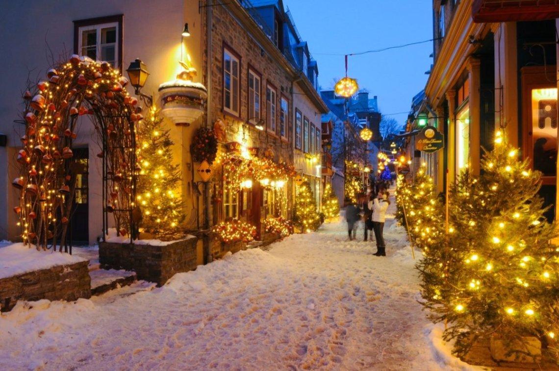 Où partir à Noël ? Si on fêtait Noël à Québec ?
