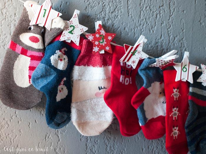 Fabriquer un calendrier de l'Avent pour Noël