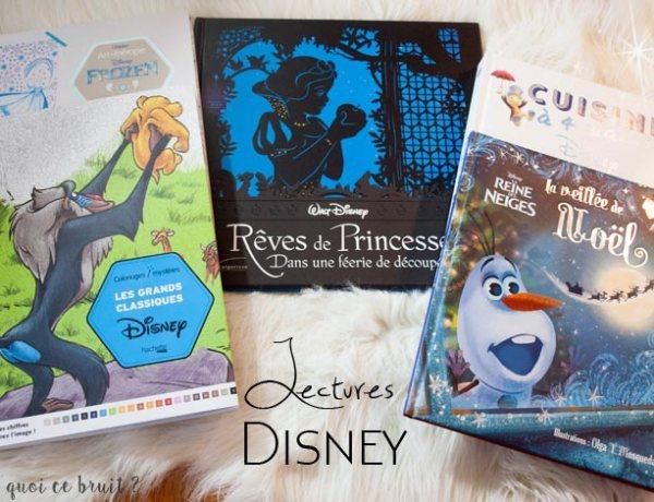 Livres Disney coloriages et lecture