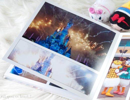 Disneyland Paris, souvenirs en livre photo CEWE