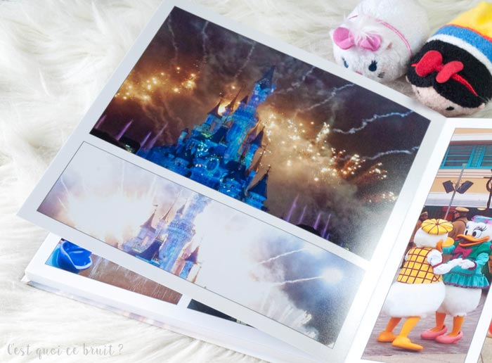Disneyland Paris, souvenirs en livre photo CEWE