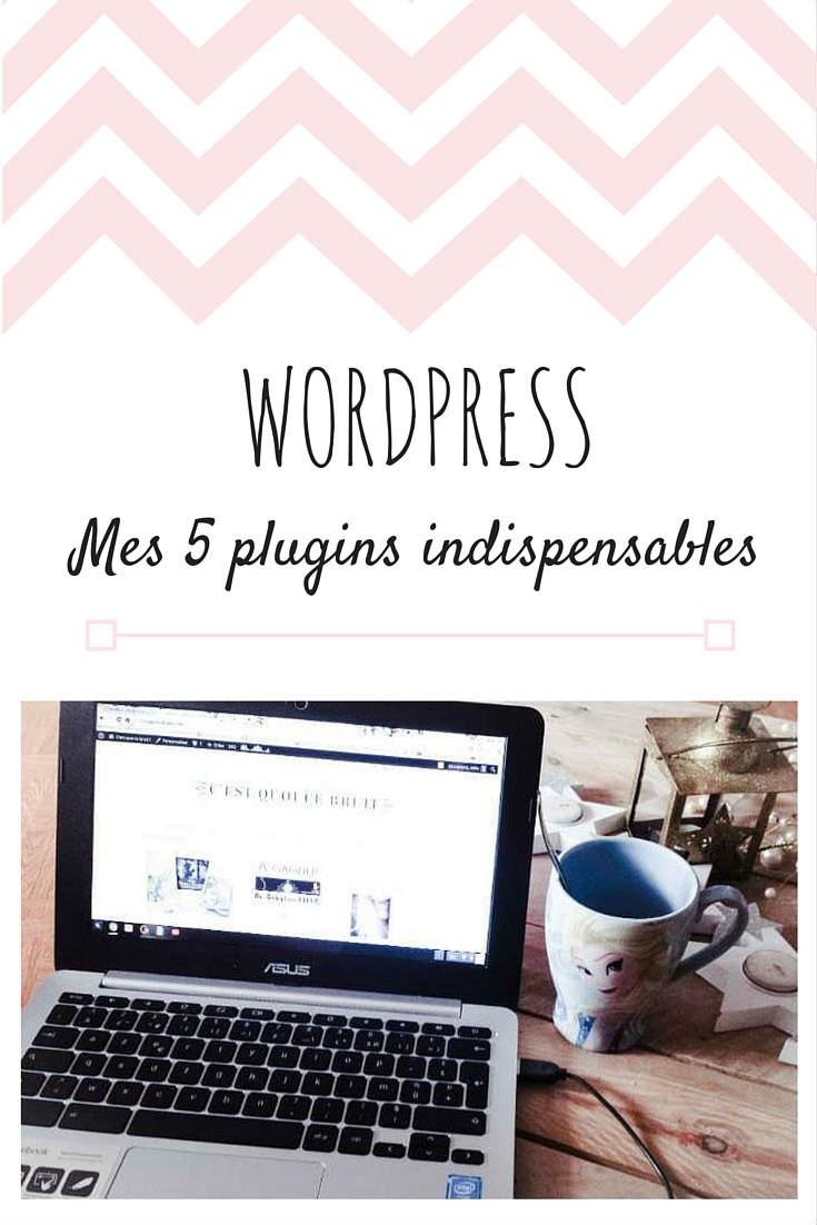 5 plugins wordpress indispensables à une blogueuse