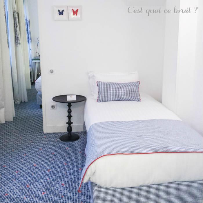 Hôtel 34B à Paris, une décoration 100% française