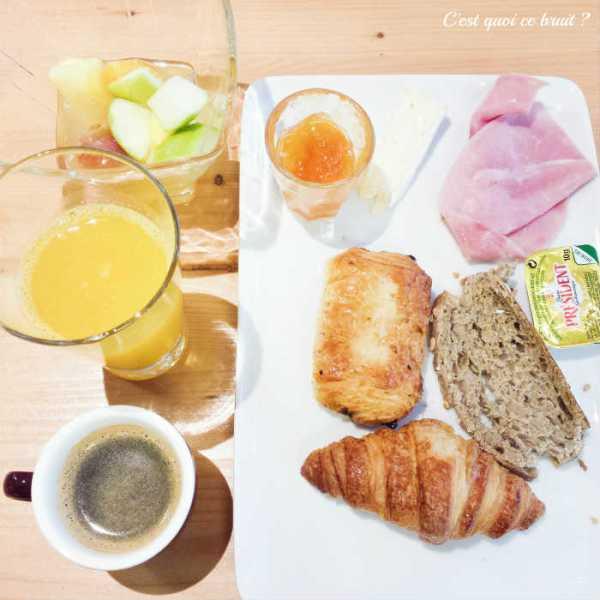 Petit déjeuner hôtel ibis styles montpellier comédie