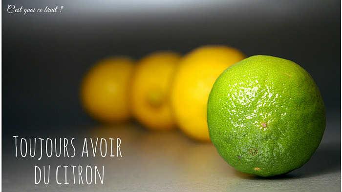 Astuces de ménage avec le citron