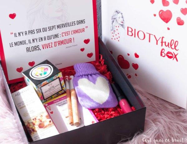 Avis sur la Biotyfull box de février