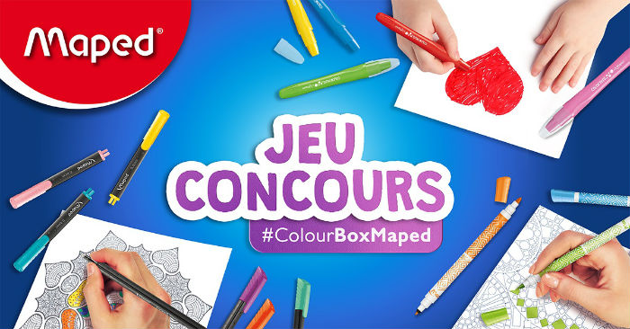 #ColourBoxMaped kit coloriage