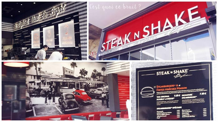 Steak N Shake à L'avenue 83 à La Valette Toulon