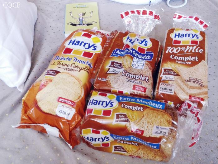 Bien être et gamme pain complet Harrys