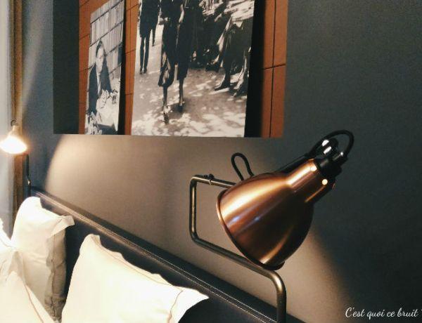 Une nuit à l'Hôtel Square Louvois à Paris : ma chambre Deluxe et sa décoration