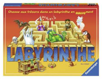 Nos jeux de société préférés pour Noël 2016 : Labyrinthe