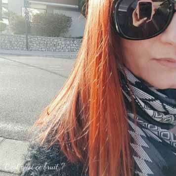 Maman a les cheveux d'Ariel !! Couleur rousse cuivrée