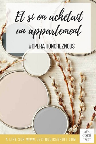 Acheter un appartement, notre parcours #home