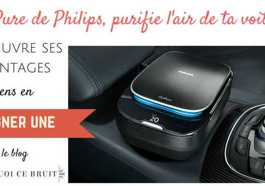 Bouffée d'air pur dans la voiture : GoPure #concours