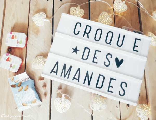 Et si on croquait des amandes ?