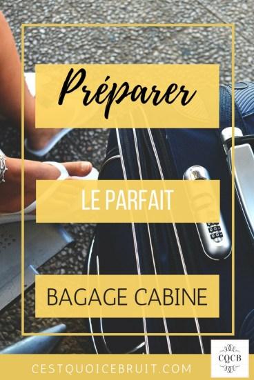 Le parfait bagage cabine pour voyager léger en avion #voyage #avion #travel #bagage #conseils #voyageur #travelling #astuce