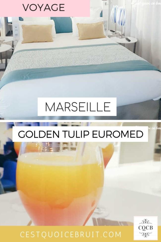 Où dormir à Marseille en famille : Hôtel Golden Tulip Euromed #marseille #familytrip #vacances #provence #voyage