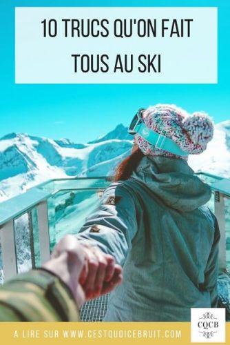 Ces 10 trucs qu'on aime faire à la montagne #montagne