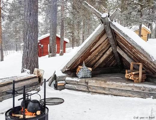 Laponie Finlandaise : lavo de Ronolä