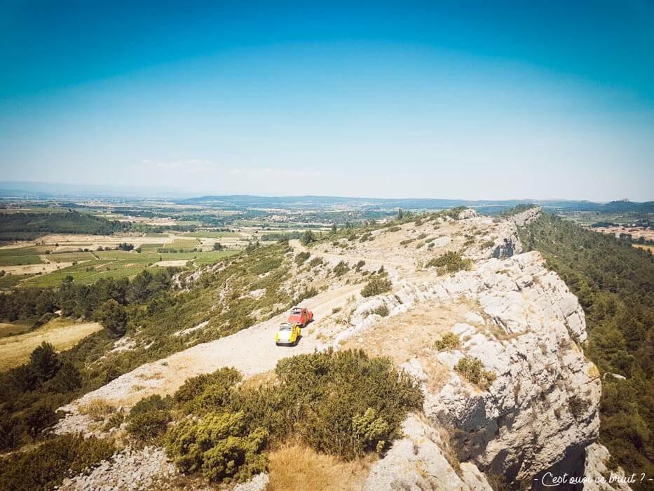 Blogtrip dans l'Aude : 2CV dans les Corbières