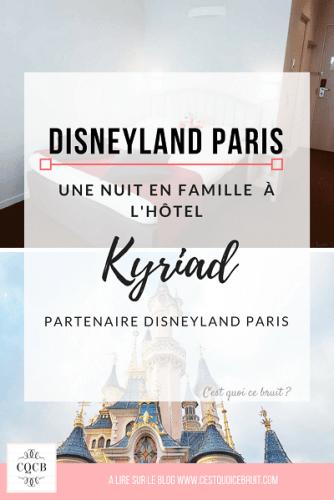 Voyage en famille à l'hôtel Kyriad Disneyland Paris, notre avis sur cet hôtel kids friendly à deux pas du parc Disney