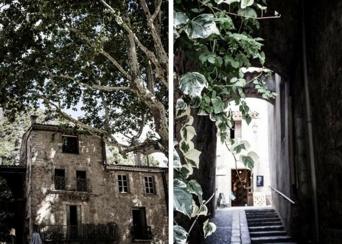 Saint Guilhem le Désert, visite en famille