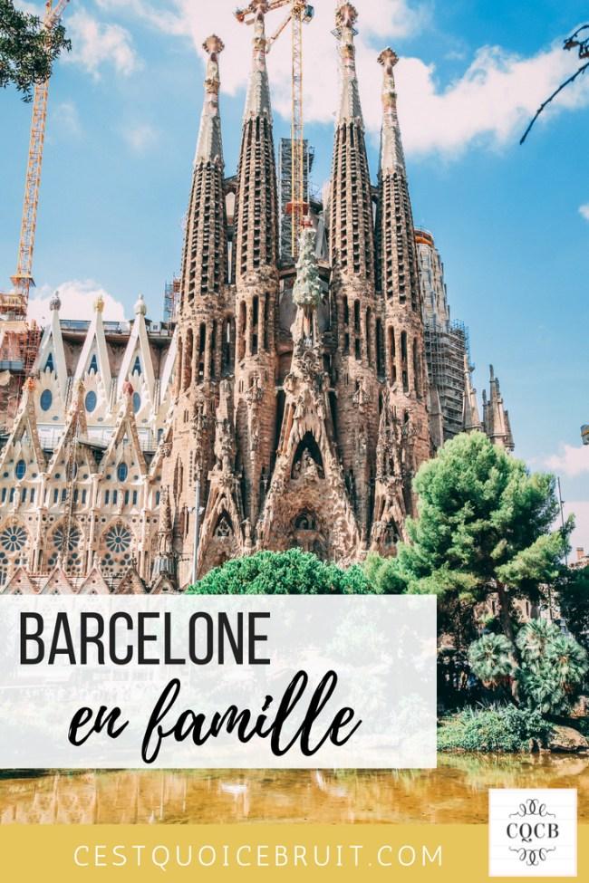 Visiter Barcelone en famille #barcelone #voyage #famille #familytrip #barcelona #travel