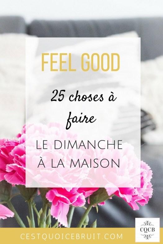25 choses à faire un dimanche pluvieux #feelgood #dimanche #zen #bienetre #famille #développementpersonnel