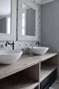Inspiration salle de bain scandinave et lumineuse