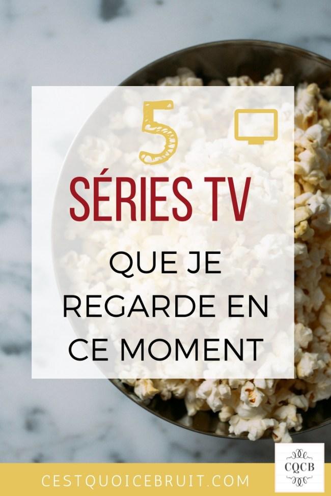 5 séries TV à regarder #tv #series #bingewatching,