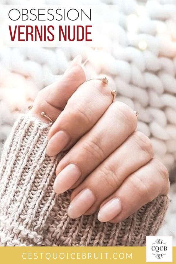 Manucure nude et ongles naturels #nude #vernis #nailart #beige