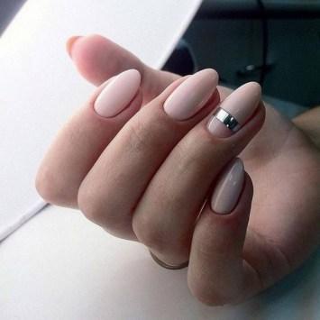 Jolis ongles naturels rose
