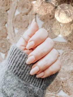 Mes ongles nude pour une manucure naturelle