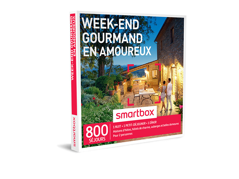 week-end gourmand à 2 Smartbox
