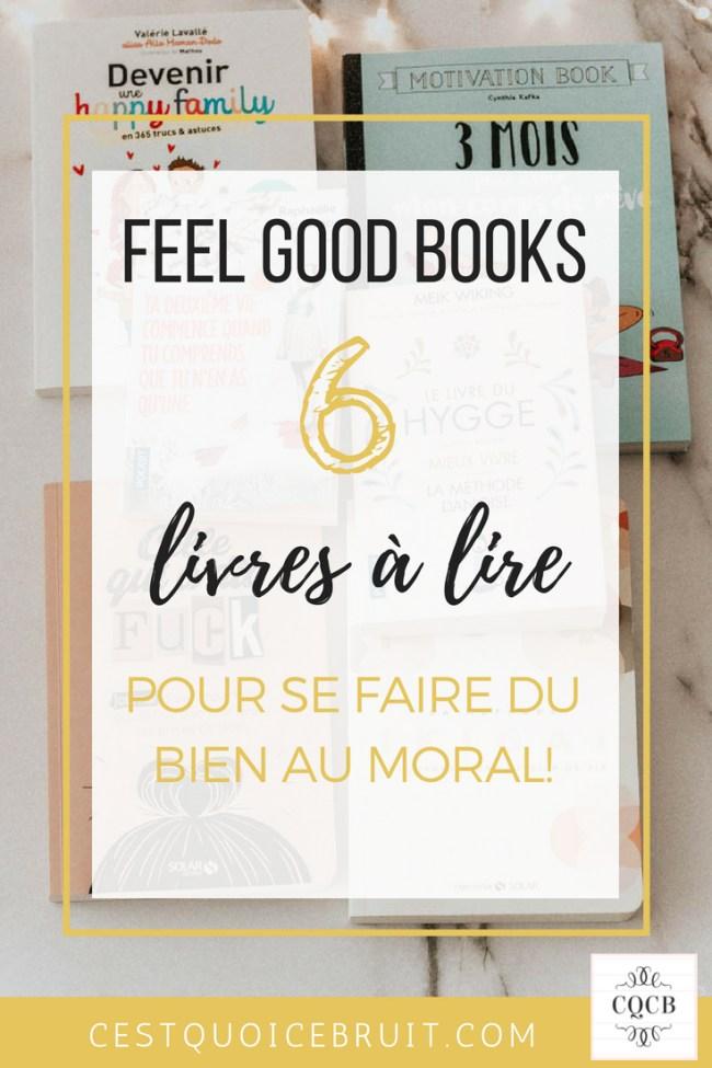 6 livres feel good à lire #feelgood #livres #lecture #book #développementpersonnel