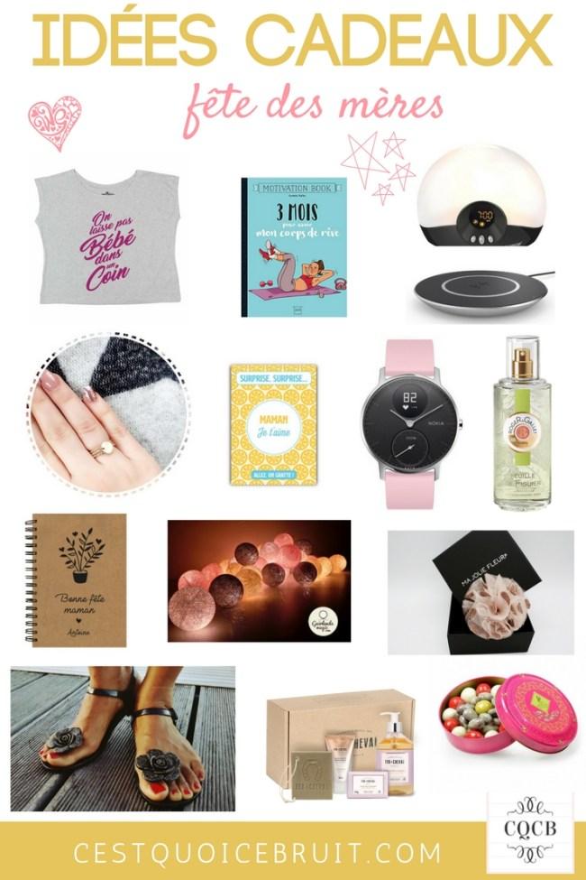 Idées de cadeaux pour la fête des mères #maman #mom #motherday #fetedesmeres #cadeaux