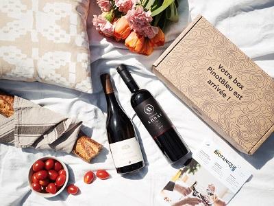 Pinot Bleu, box de vin bio à offrir pour la fête des pères