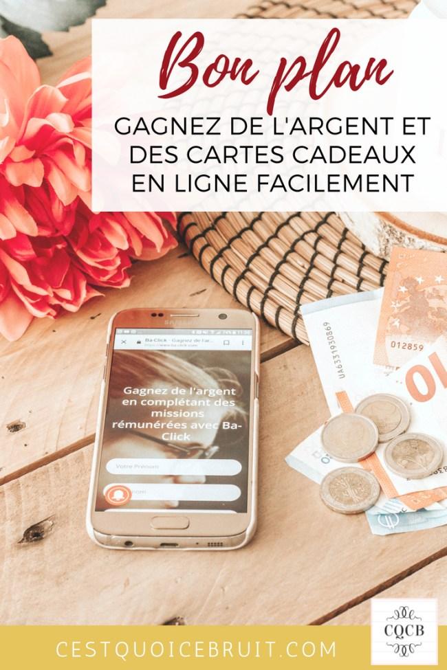 Gagner de l'argent sur l'internet #argent #bonplan #money