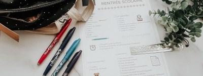 Check list de la rentrée scolaire à imprimer pour ne rien oublier le premier jour d'école des enfants