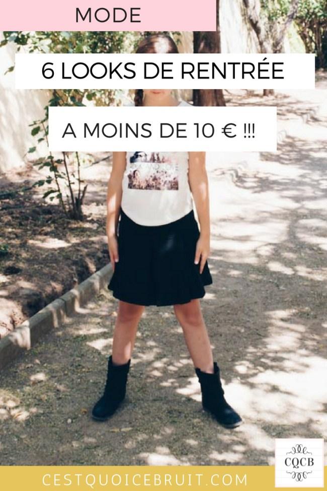 6 looks de rentrée à petit prix pour vos filles #fashion #mode #modekids #rentrée