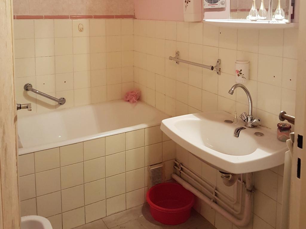 Rénovation de salle de bain avant / après