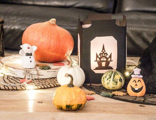 Lanterne Halloween, tuto pas à pas DIY