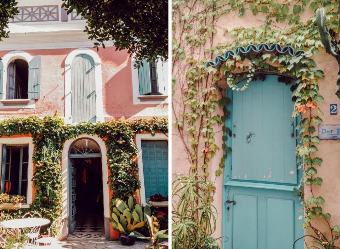 Belles portes d'entrées en bois