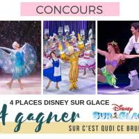 """Je vous emmène voir Disney sur glace """"Crois en tes rêves"""" ? #concours"""