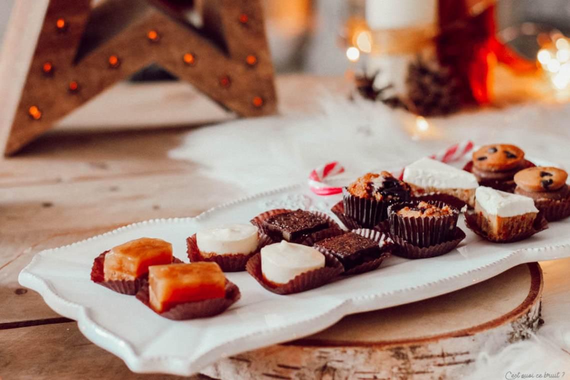 Les desserts de fêtes