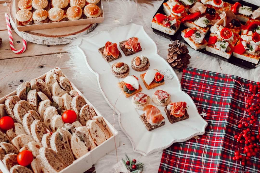 Apéritif dînatoire pour les fêtes