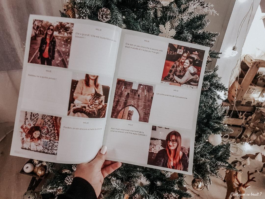 Journal photo pour partager ses souvenir avec les grands-parents et la famille