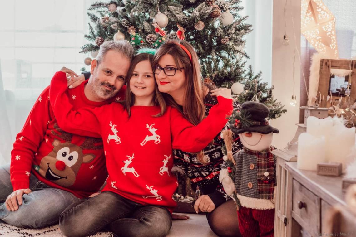 Blog famille, les pulls de Noël
