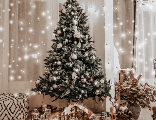 Mon sapin de Noël et sa déco