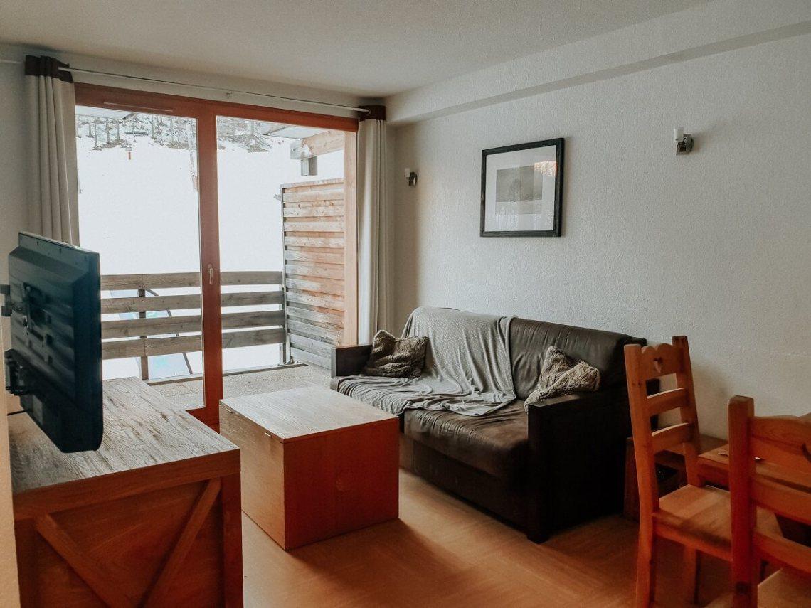 Notre appartement aux Orres au Parc des Airelles Madame Vacances :